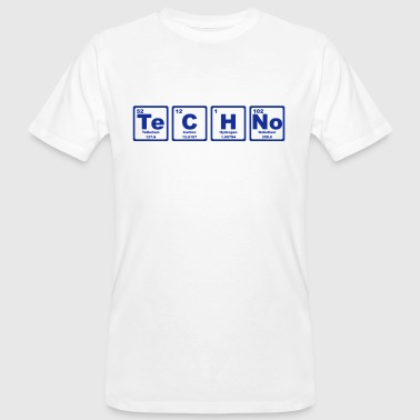 TECHNO PERIODIC TABLE - Camiseta ecológica hombre