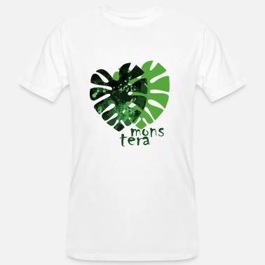 Monstera monstera - Men's Organic T-Shirt