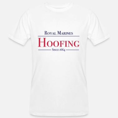 Royal Marines Royal Marines Hoofing Since 1664 - Men's Organic T-Shirt