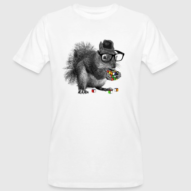 Rubiks Cube Rubik's Squirrel - Men's Organic T-Shirt