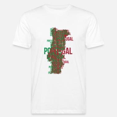 36fa06dd80 Portugal Portugués Copa del Mundo de Fútbol - Camiseta ecológica hombre