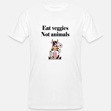 Cow Vegan Vegan Cow Cows Vegan Vegan - Men's Organic T-Shirt