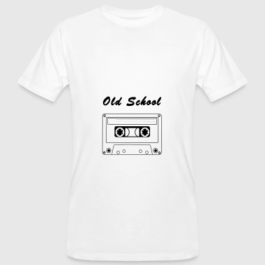 Old School Techno Old School cassette - Men's Organic T-Shirt