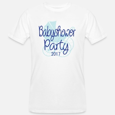 2017 Baby Baby Shower Party 2017 - Men's Organic T-Shirt