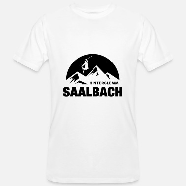 Saalbach Summit Saalbach - Men's Organic T-Shirt