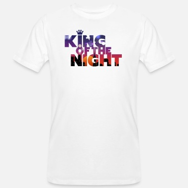 Party King Of The Night • Jos Party Animals huumorilla! - Miesten luonnonmukainen t-paita
