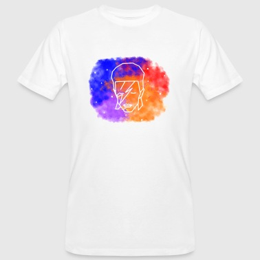 Geometric Bowie - Men's Organic T-Shirt