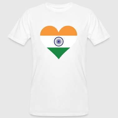 A heart for India - Men's Organic T-shirt