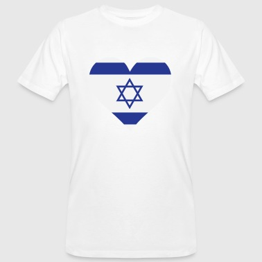 Gaza Strip A Heart for Israel - Men's Organic T-Shirt