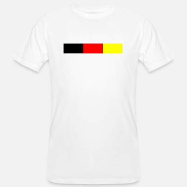 Nationalfarben Deutsche Nationalfarben - Männer Bio-T-Shirt