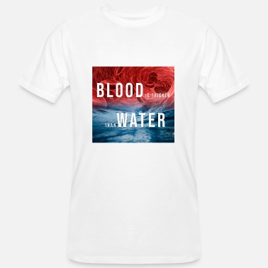 Thicker Blood is thicker than water - Men's Organic T-Shirt