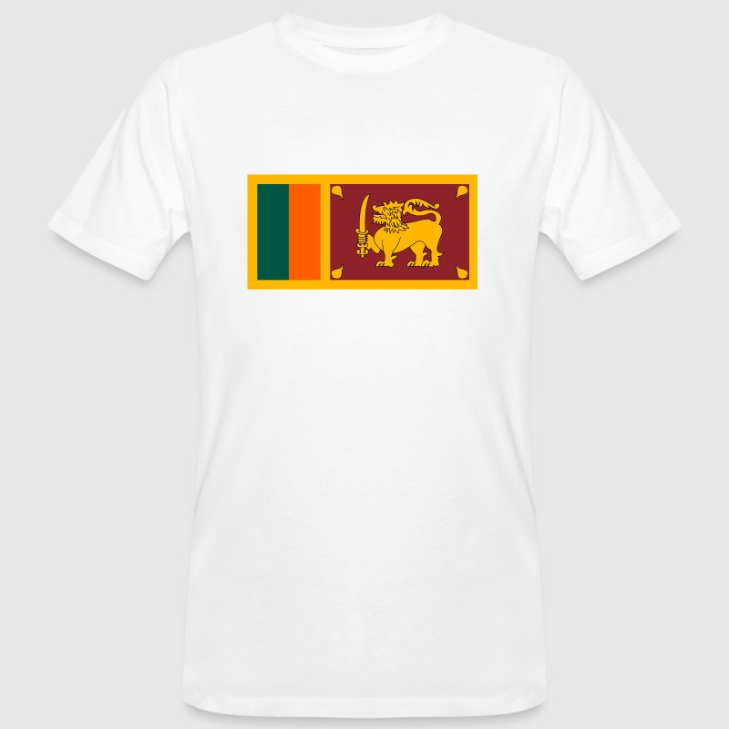 Drapeau national du Sri Lanka - T-shirt bio Homme