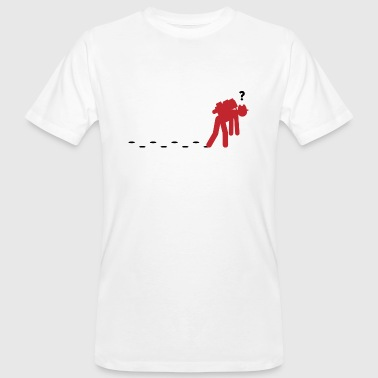 A confused Wanderer - Men's Organic T-Shirt