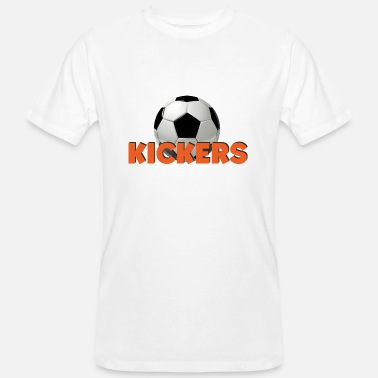 Cartoon Football KICKERS cartoon cartoon football gift - Men's Organic T-Shirt