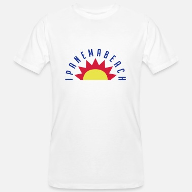 Ipanema Ipanema Beach - Men's Organic T-Shirt