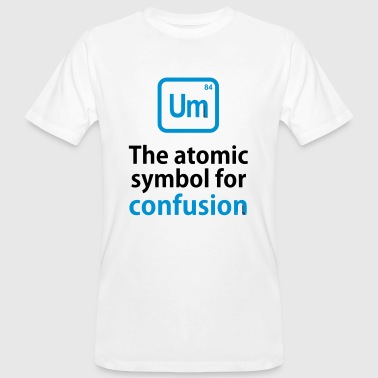 THE CHEMICAL ELEMENT OF CONFUSION - Men's Organic T-Shirt