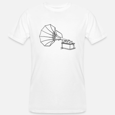 Phonograph phonograph - Men's Organic T-Shirt