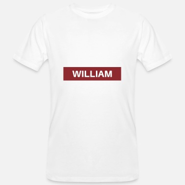 William William - Mannen bio T-shirt