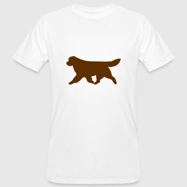 Newfoundland (Brown) Trotting - Men's Organic T-Shirt