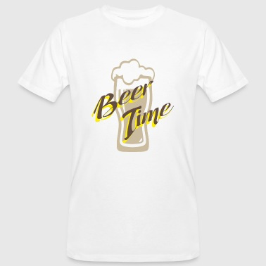 Timelord Beer time - Men's Organic T-Shirt