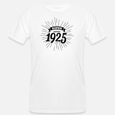 1925 Super sinds 1925 - Mannen Bio-T-shirt