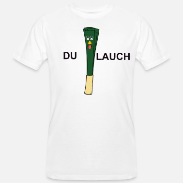 Leek You leek, funny leek / leek - Men's Organic T-Shirt