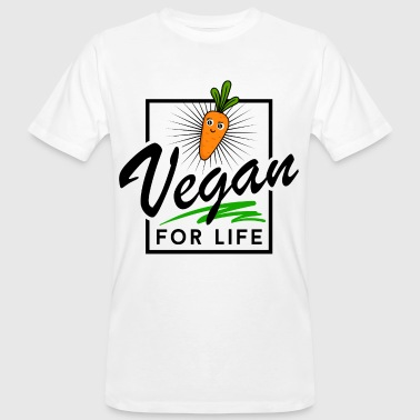 Vegan - Vegan for Life - Männer Bio-T-Shirt