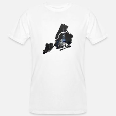 Hudson New York City - Ekologisk T-shirt herr