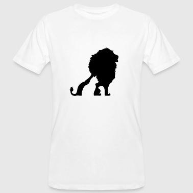 MY CAT HAS THE HEART OF A LION! - Men's Organic T-shirt