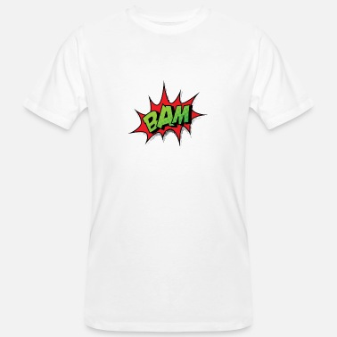 Comic Strips Comic Comicstyle Comic Strip BAM - Men's Organic T-Shirt