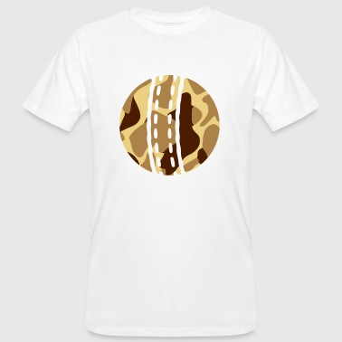 Offence CRICKET BALL - CAMO / CAMOUFLAGE - Men's Organic T-Shirt