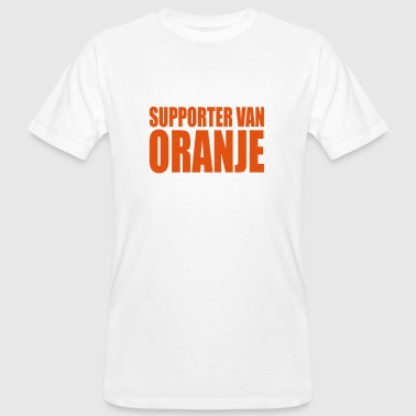 Dutch Oranje Support Supporter van oranje - Men's Organic T-Shirt