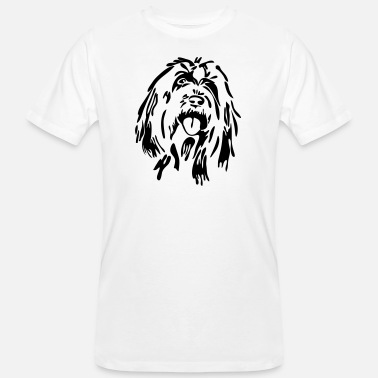 Bearded Collie Bearded Collie - Mannen Bio-T-shirt