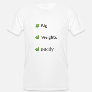 Ronny Ronny Big Weights - T-shirt ecologica da uomo