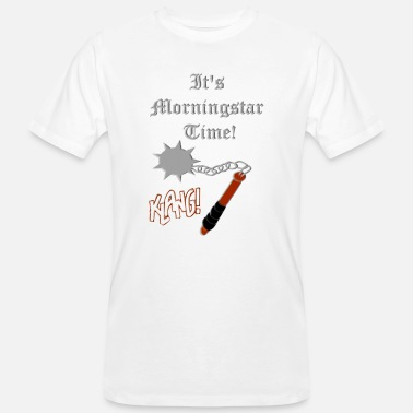 Medieval Combat Sport Medieval Weapon morningstar by Patjila - Men's Organic T-Shirt