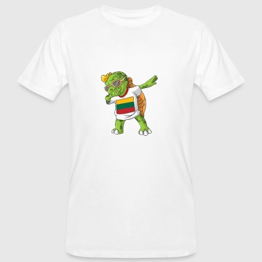 Lithuania Dabbing turtle - Men's Organic T-Shirt