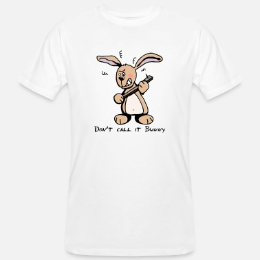 Sgladschdglei Don't call it Bunny - Männer Bio-T-Shirt