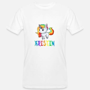 Kristine Unicorn Kristin - Men's Organic T-Shirt