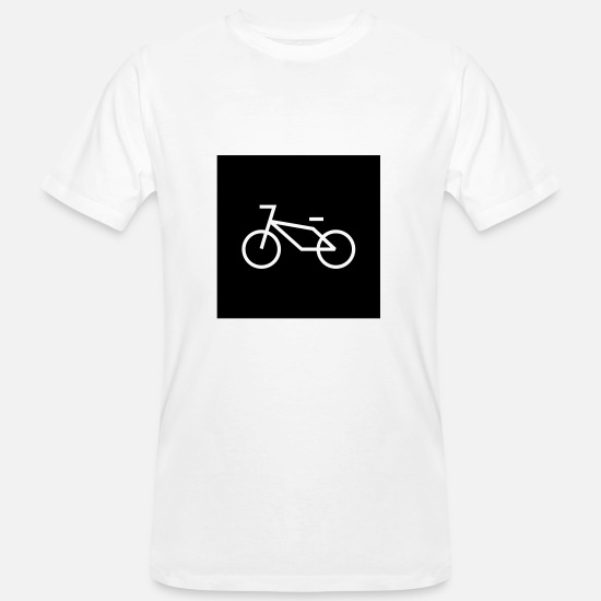 Bike Messenger T-Shirts - Bike - Bike - Men's Organic T-Shirt white