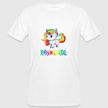 Raymond Unicorn Raymonde - Men's Organic T-Shirt