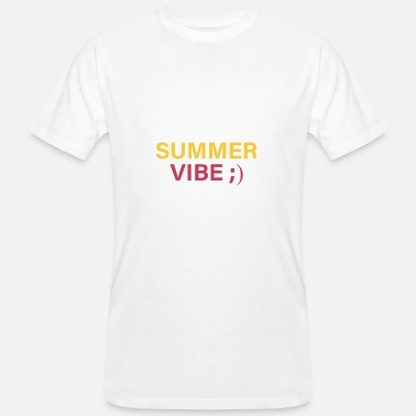 Somme Somme / zomervibe - Mannen Bio-T-shirt