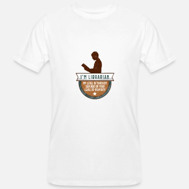Library Funny library librarian library gift - Men's Organic T-Shirt