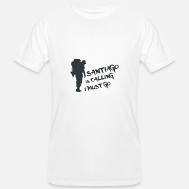 Camino De Santiago Camino de Santiago. St. James. T-shirt tea - Men's Organic T-Shirt