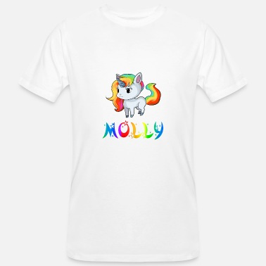 Molly Unicorn Molly - Økologisk T-skjorte for menn