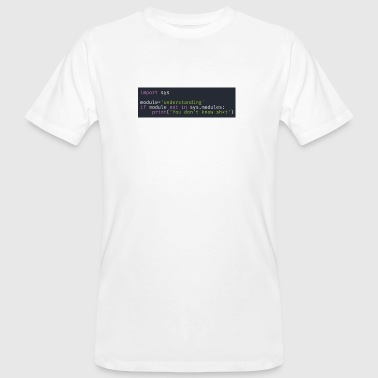 Programmierer, Software, Informatik, Developer - Männer Bio-T-Shirt