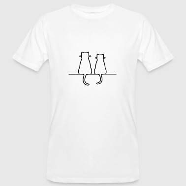 Cats Cats couple - Men's Organic T-Shirt
