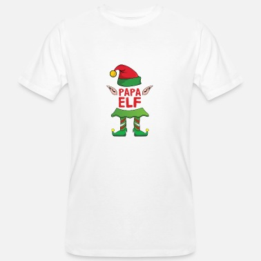 76996c3bc2b Family Xmas Dad Father Elf Christmas Family Gift Xmas - Men s Organic T- Shirt