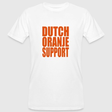 Dutch Oranje Support Dutch oranje support - Men's Organic T-Shirt