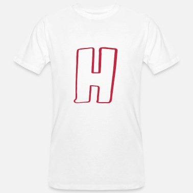 Halftime H as helicopter landing pad high-rise halftime - Men's Organic T-Shirt