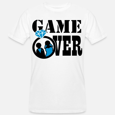 Game Over Game Over - Ekologisk T-shirt herr